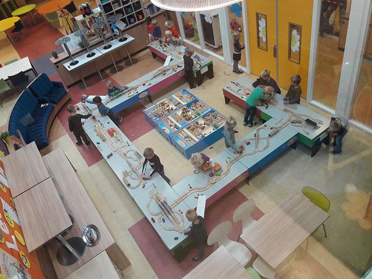 Kidsproject modelspoormuseum Sneek