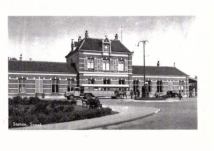 Stationsgebouw Sneek